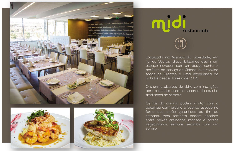 Imprensa e Media - Restaurante MIDI