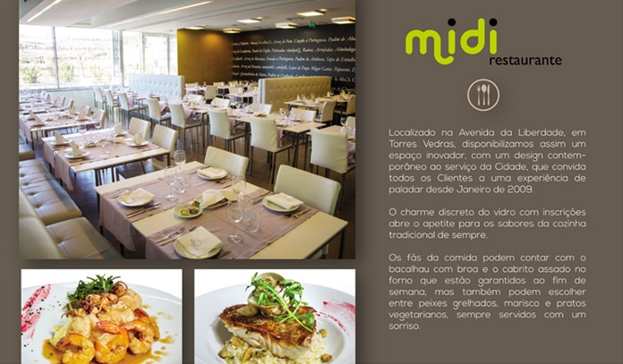 Imprensa e Media - Restaurante MIDI